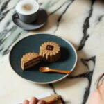 Durian and Coffee Mooncepe